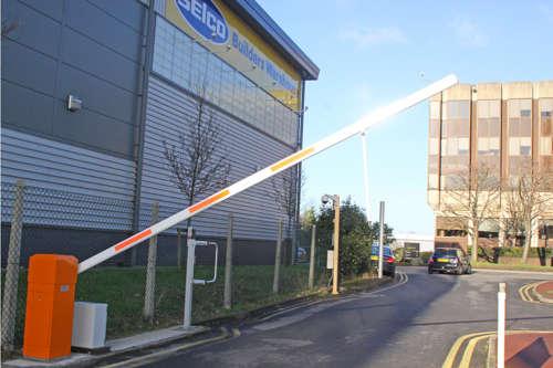 Alphatronics Slagboom Parking Warenhuis