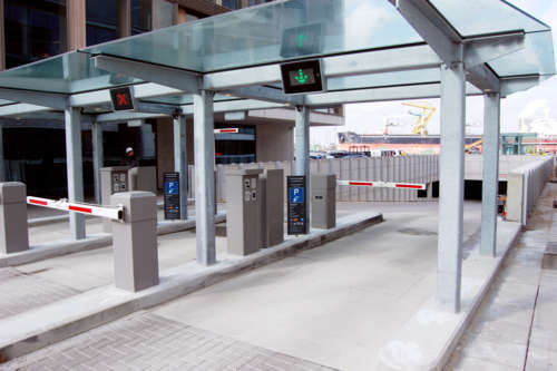 Parking System With Payment Terminal