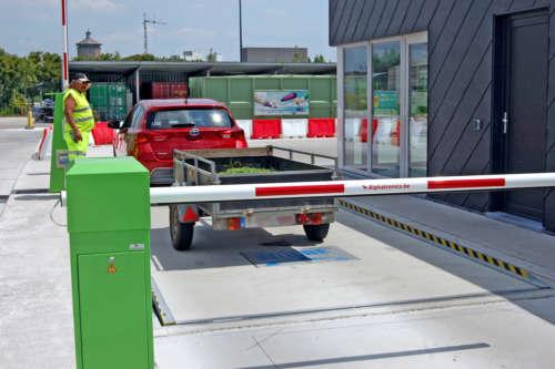 Toegangscontrole Recyclageparken Alphatronics