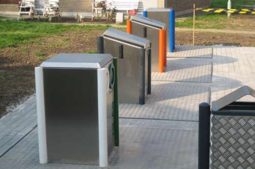 Alphatronics Ondergrondse Containers Voor Afvalsortering