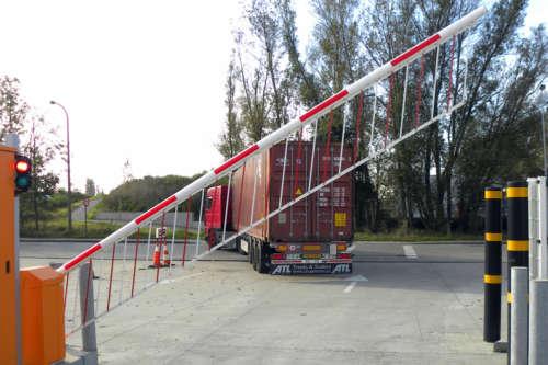 Alphatronics Onderkruip Beveiliging Slagboom