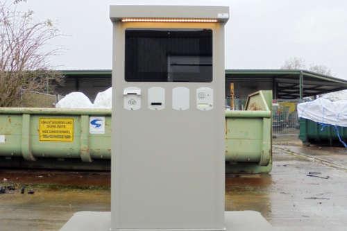 Alphatronics Bedieningszuil Recyclagepark