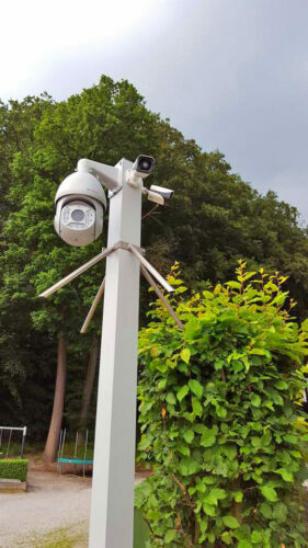 CCTV Column