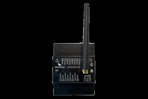 Alphatronics I/O Module Met Draadloze Zender