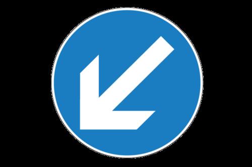 Alphatronics Verkeersbord Richtingspijl