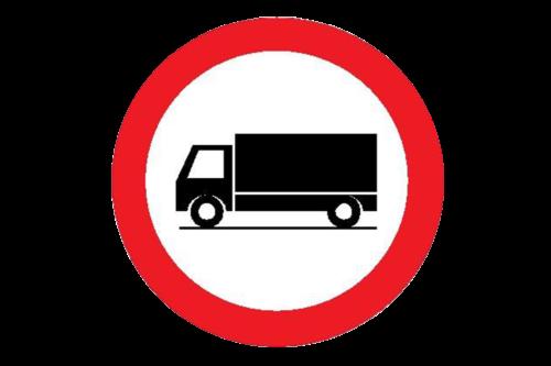 Alphatronics Verkeersbord Verboden Vrachtwagens