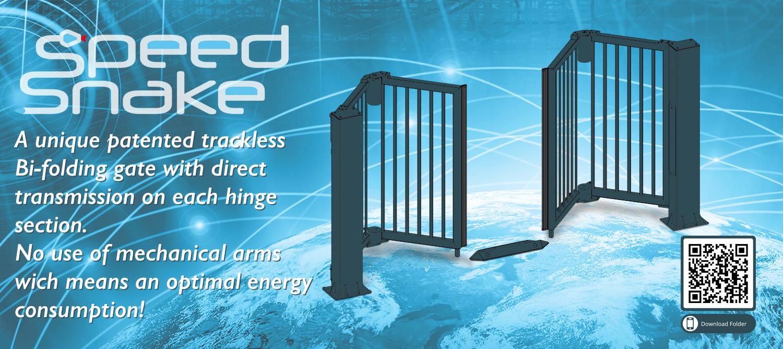 Alphatronics B-folding gates, speed gates