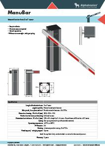 Manual-barrier-Alphatronics