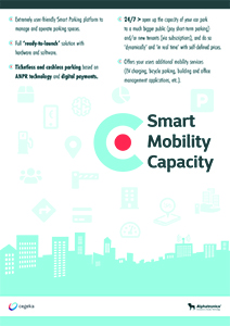 Oplossing Smart Mobility Capacity