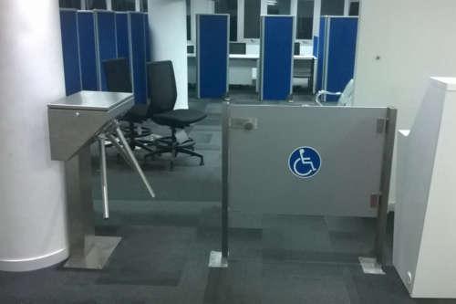 turnstile tripod in stainless steel version alphatronics
