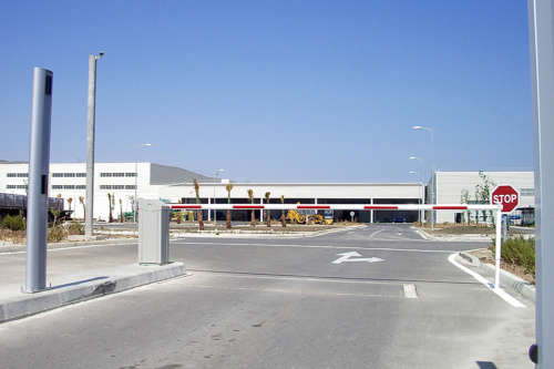 Alphatronics Slagbomen Lange Reikwijdte Fabriek Marokko