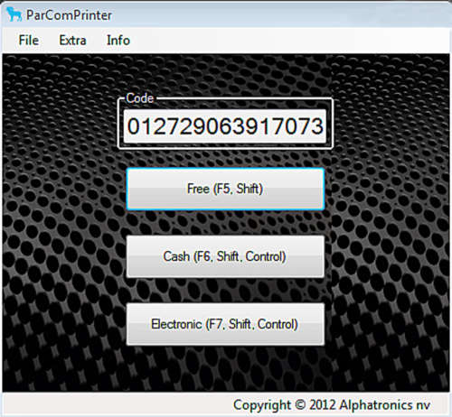 Alphatronics ParCom Printer