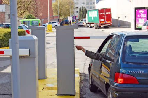 Alphatronics Parkeersysteem Parking Grootwarenhuis