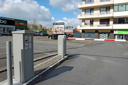 Alphatronics Gedeelde Parking Winkelcentrum