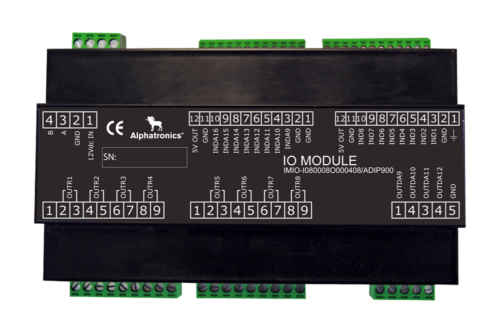 Input Output Module – 8 Inputs